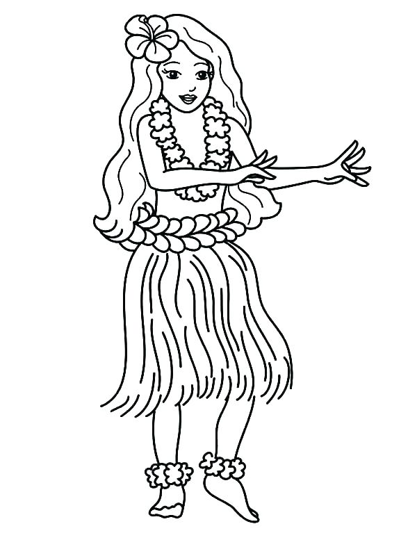 600x777 Hawaii Coloring Page Coloring Page Coloring Pages Coloring Pages
