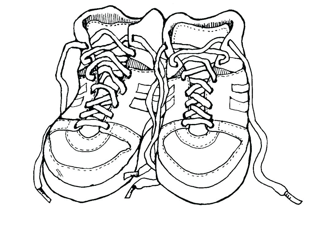 1024x735 Dance Shoes Colouring Pages Coloring Ballet As Well Class Pictures