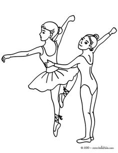 236x305 Group Of Young Ballet Dancers Coloring Page Brielle