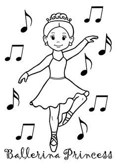 236x334 Ballet Coloring Sheet First Position Singing Dancing Acting
