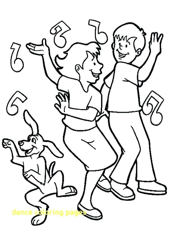 600x775 Dancing Coloring Pages Letter D Is For Dance Coloring Page Dancing