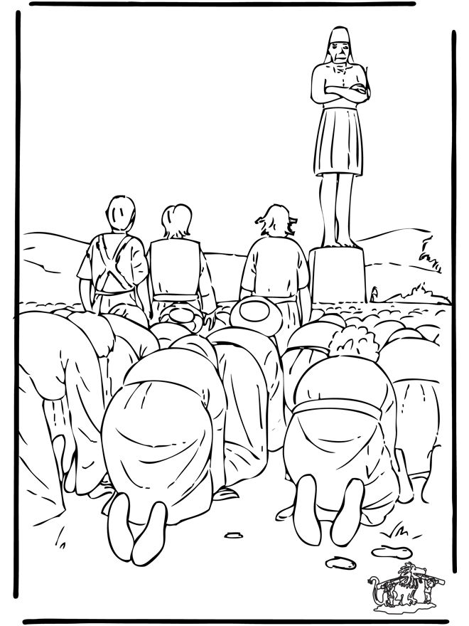 Daniel Bible Coloring Pages