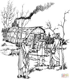 Daniel Boone Coloring Pages