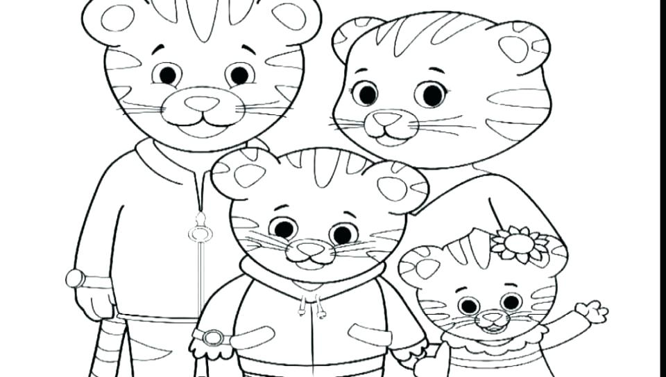 960x544 Daniel Coloring Pages Coloring Page First Name Daniel Tiger