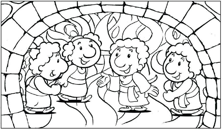 871x505 Daniel Coloring Pages Coloring Pages Bible The Prophet Daniel