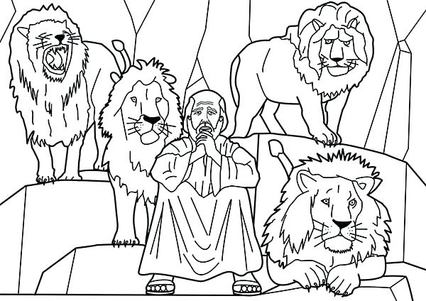 600x424 Daniel Coloring Pages Coloring Pages Coloring Pages Large Size