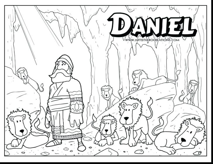 728x563 Daniel Coloring Pages Coloring Pages With Wallpaper Background