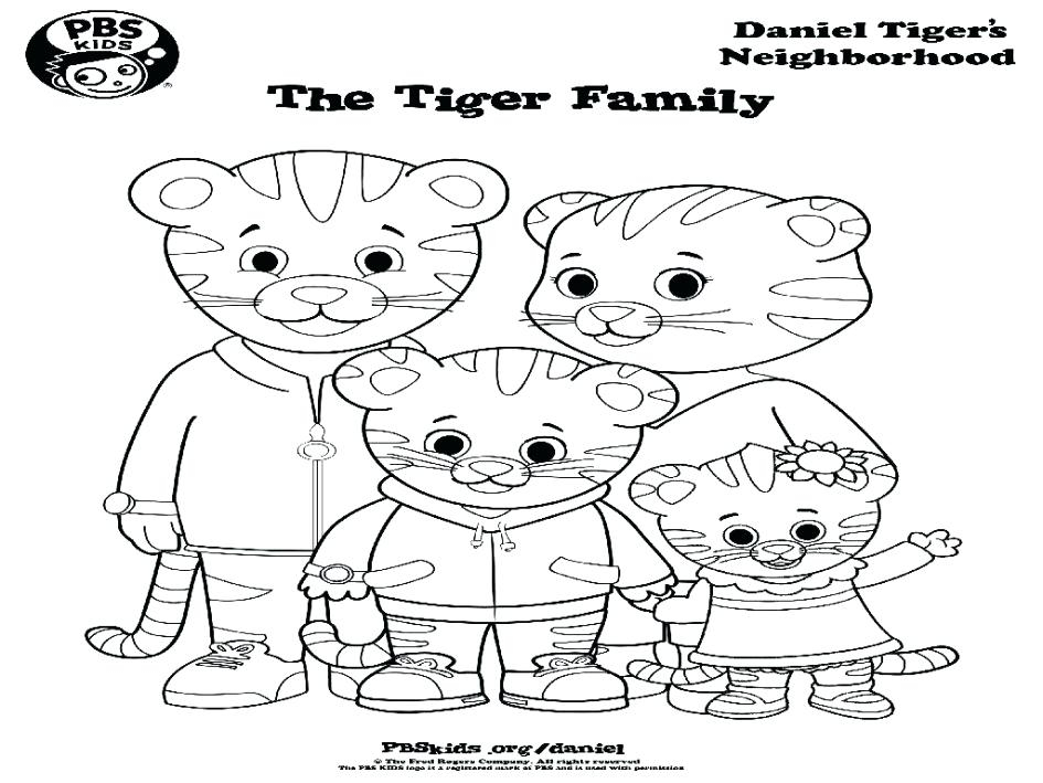 945x709 Daniel Tiger Coloring Page Daniel Tiger Coloring Pages Best