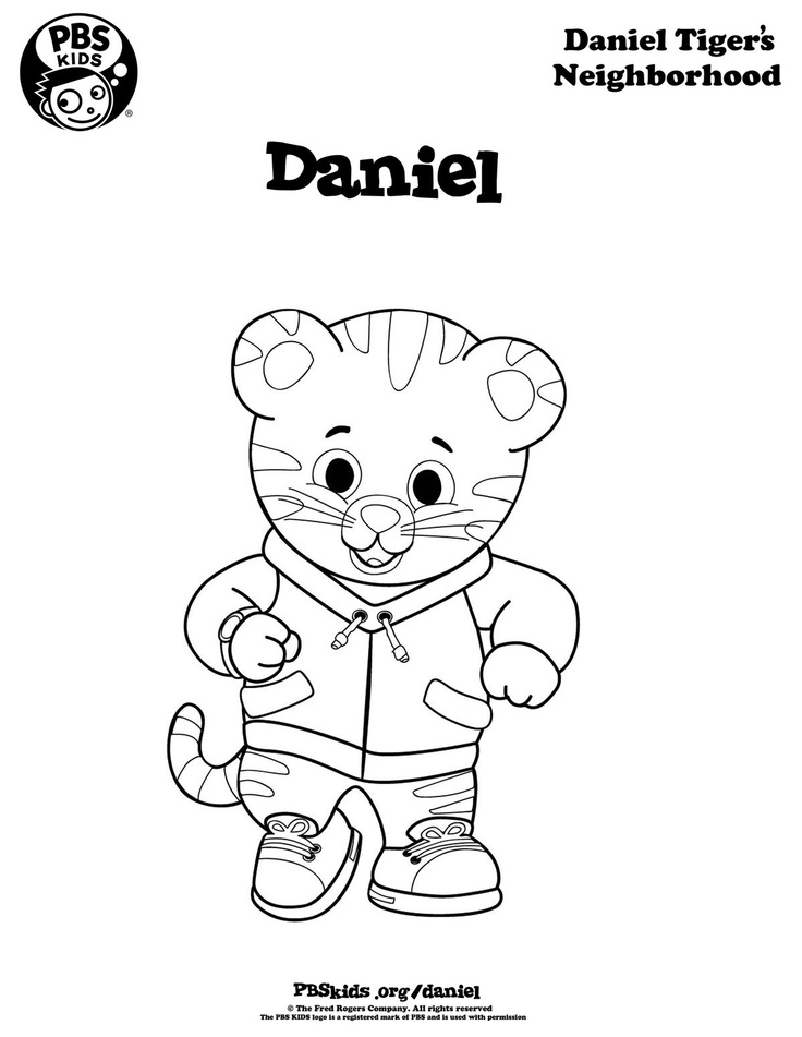736x951 Marvellous Inspiration Daniel Tiger Coloring Pages Page