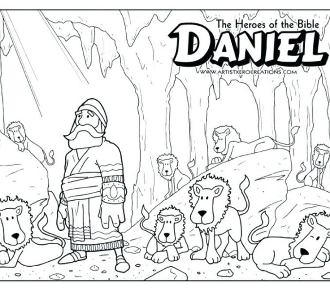 678x600 Daniel Coloring Pages Free Daniel Coloring Pages Free Coloring