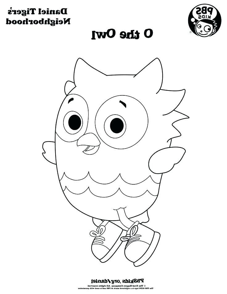 736x952 Daniel Tiger Coloring Pages Printable Tiger Coloring Pages O