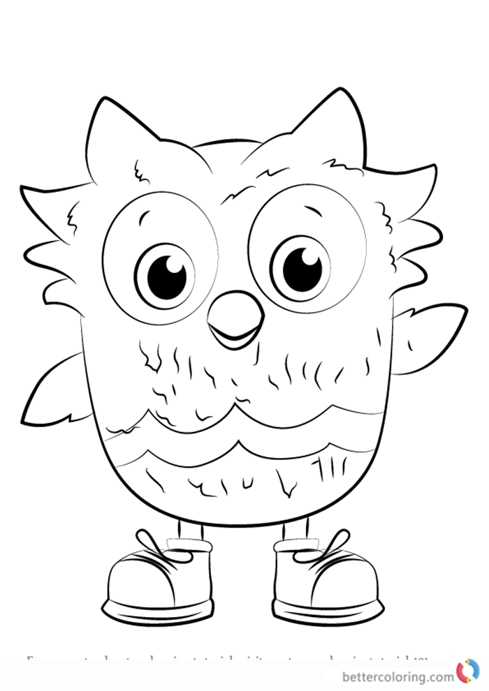 700x990 O The Owl From Daniel Tiger Coloring Pages