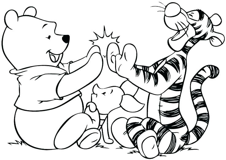 736x523 Coloring Page Of A Tiger Luxury Tiger Coloring Pages For Tiger