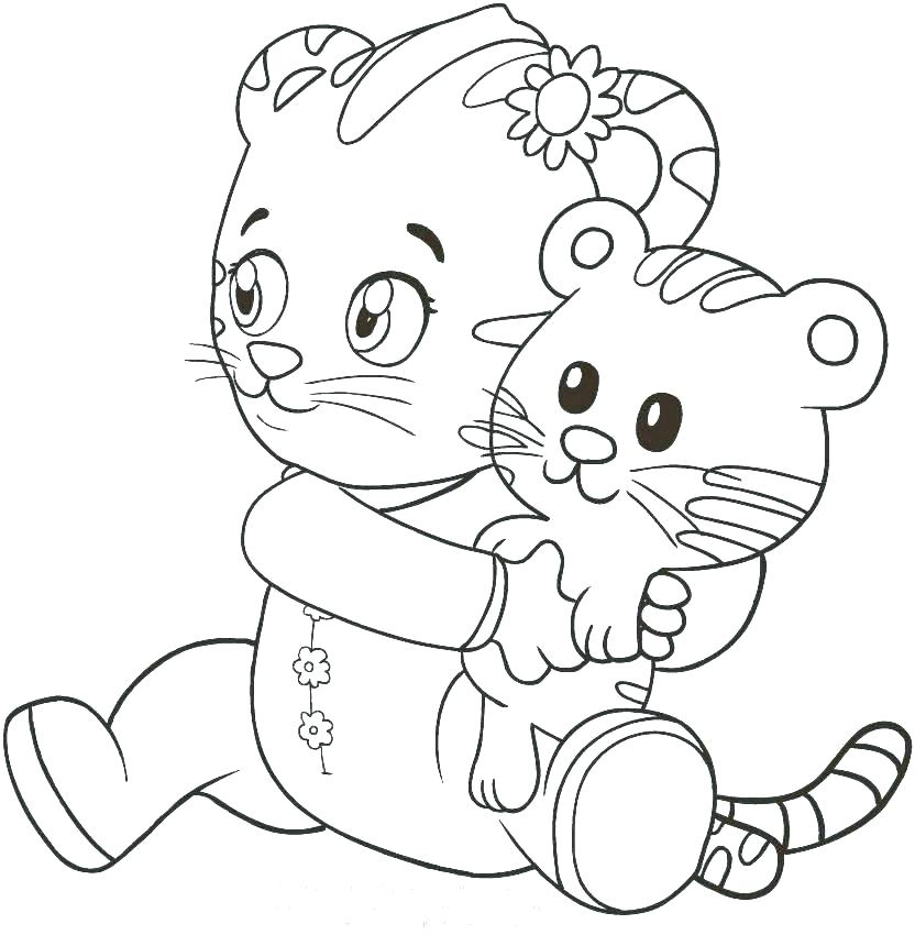 832x850 Coloring Pages Of Tigers Tigers Coloring Pages Tiger Coloring Book