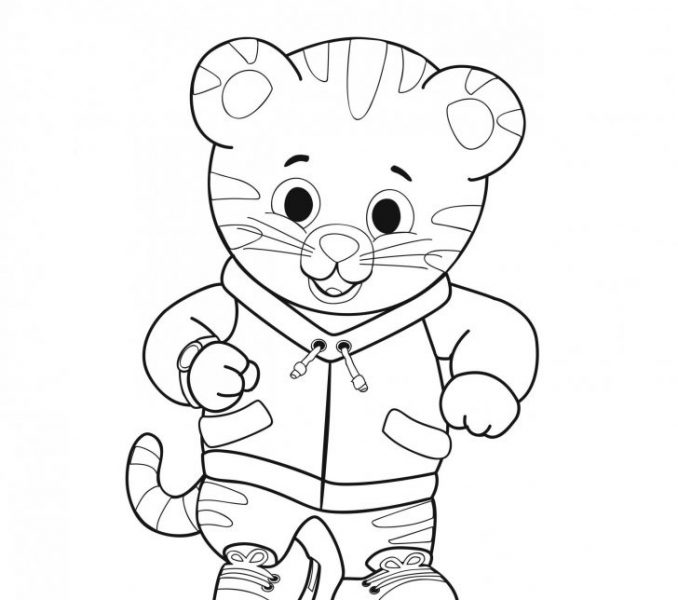 678x600 Daniel Tiger Coloring Book Print Coloring Pages Coloring Pages
