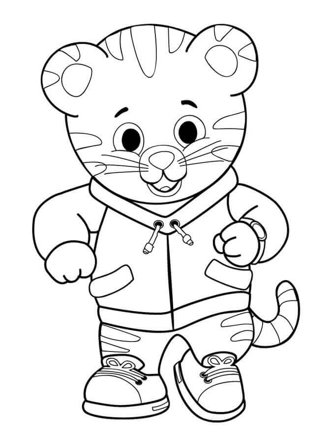 Daniel Tiger Printable Coloring Pages