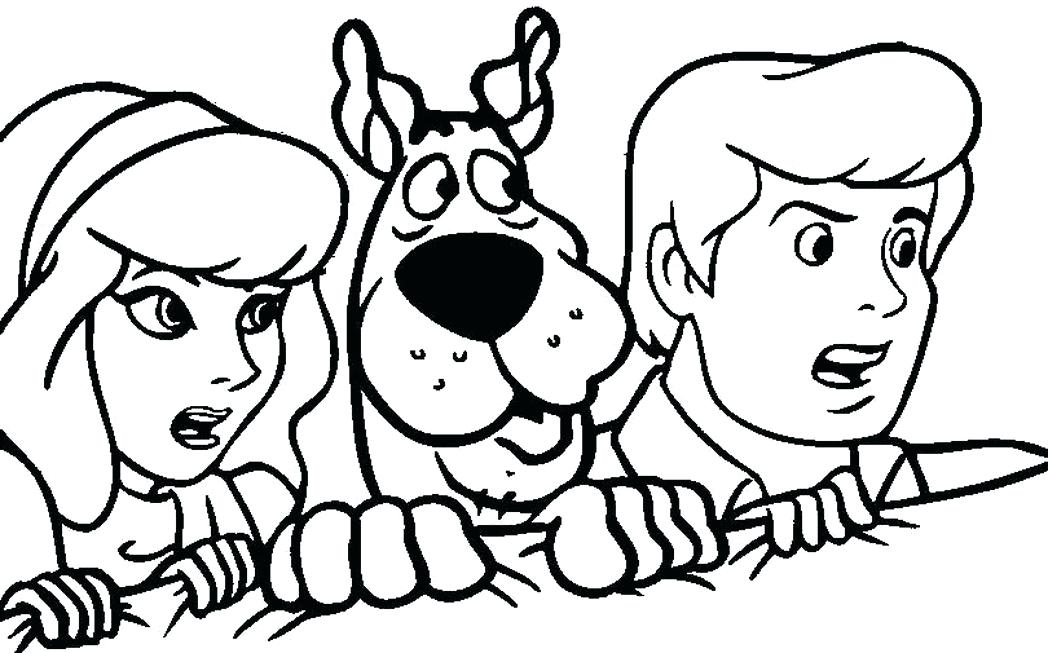 1048x653 Scooby Doo Coloring Pages As Well As Coloring Pages Vampire Scooby