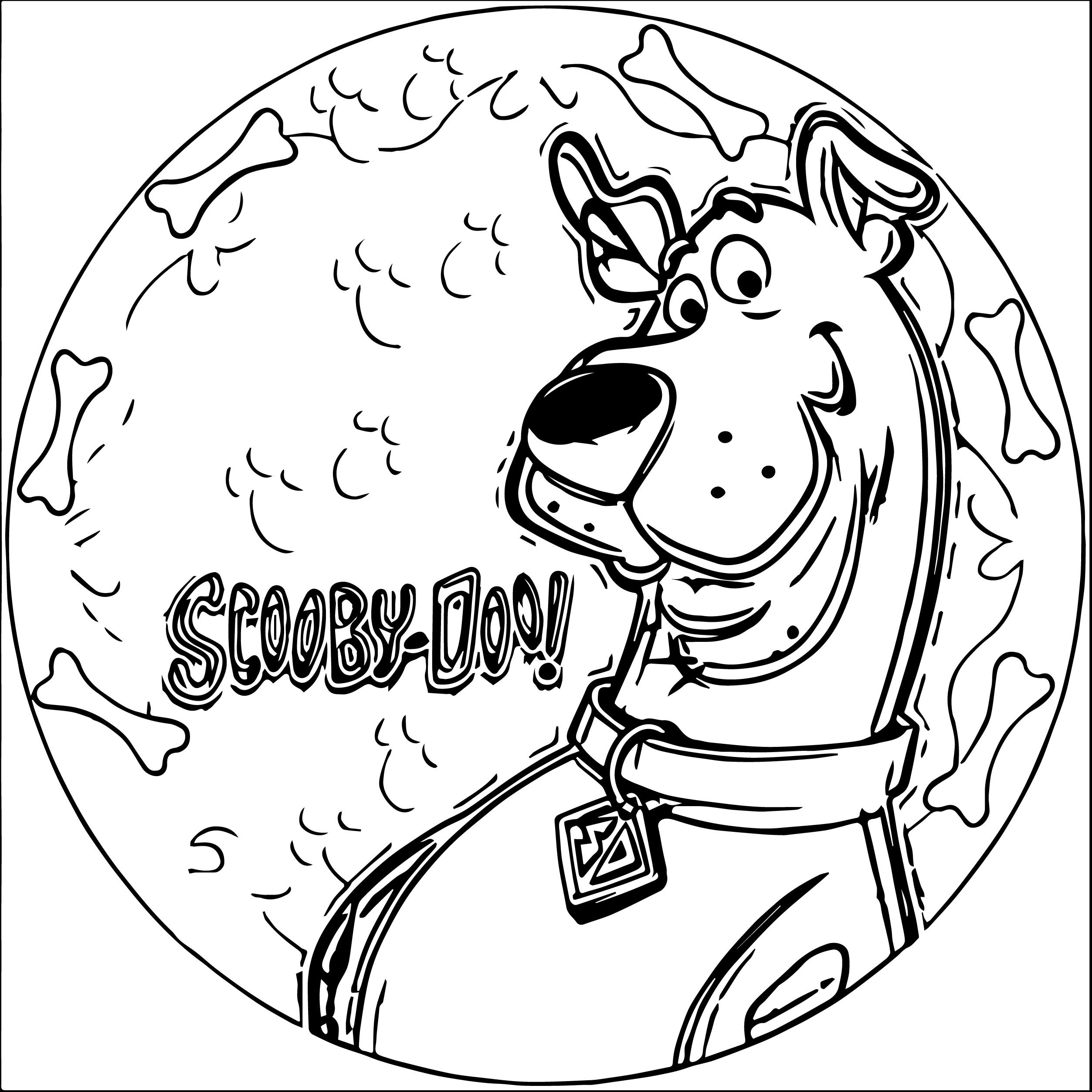 2506x2506 Scooby Doo Coloring Pages Picture Inspirations