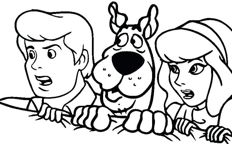 810x505 Scooby Doo Coloring Pages Print Out Coloring Pages Free Coloring