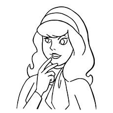 230x230 Top Free Printable Scooby Doo Coloring Pages Online Daphne Blake