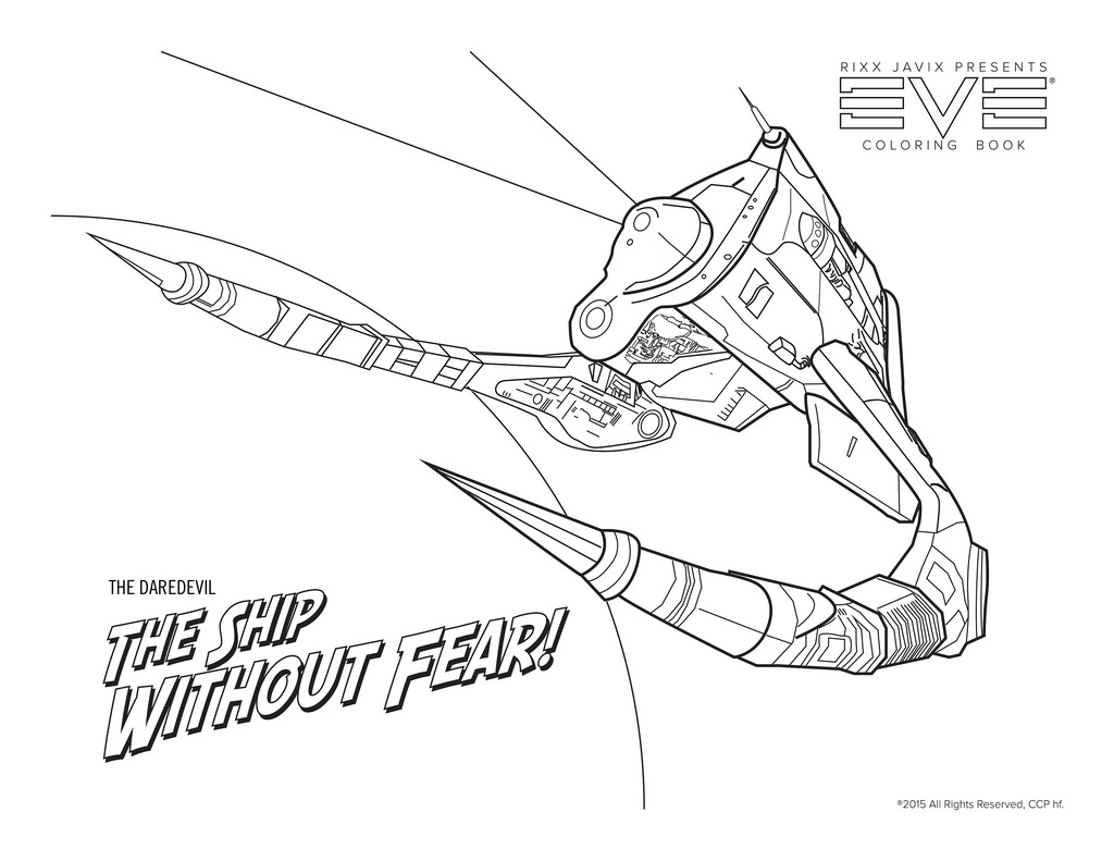 1024x791 Daredevil Coloring Page Enjoy Coloring The Infamous Ship