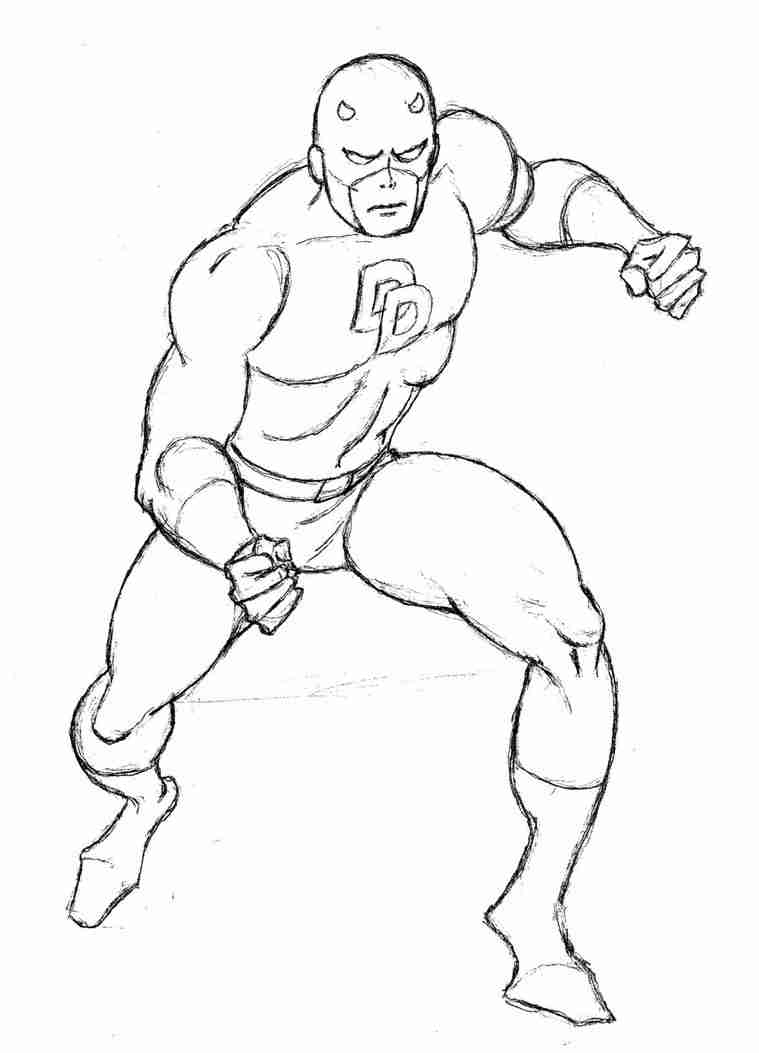 759x1053 Daredevil Coloring Pages Adorable Fototo Me Lovely