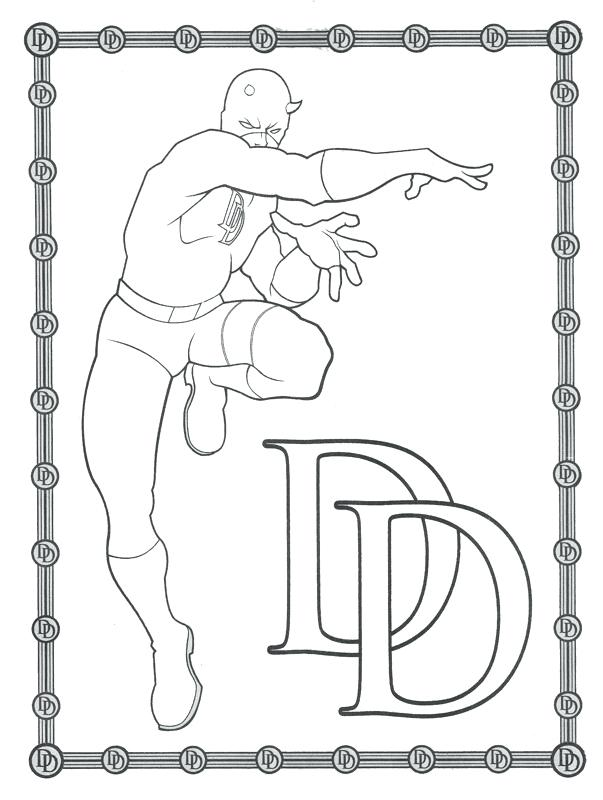 603x800 Daredevil Coloring Pages Bicycle Daredevil Doing Tricks Coloring