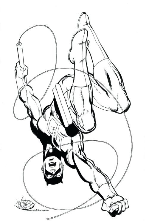 490x750 Daredevil Coloring Pages Flying Ace Daredevil Printable Coloring