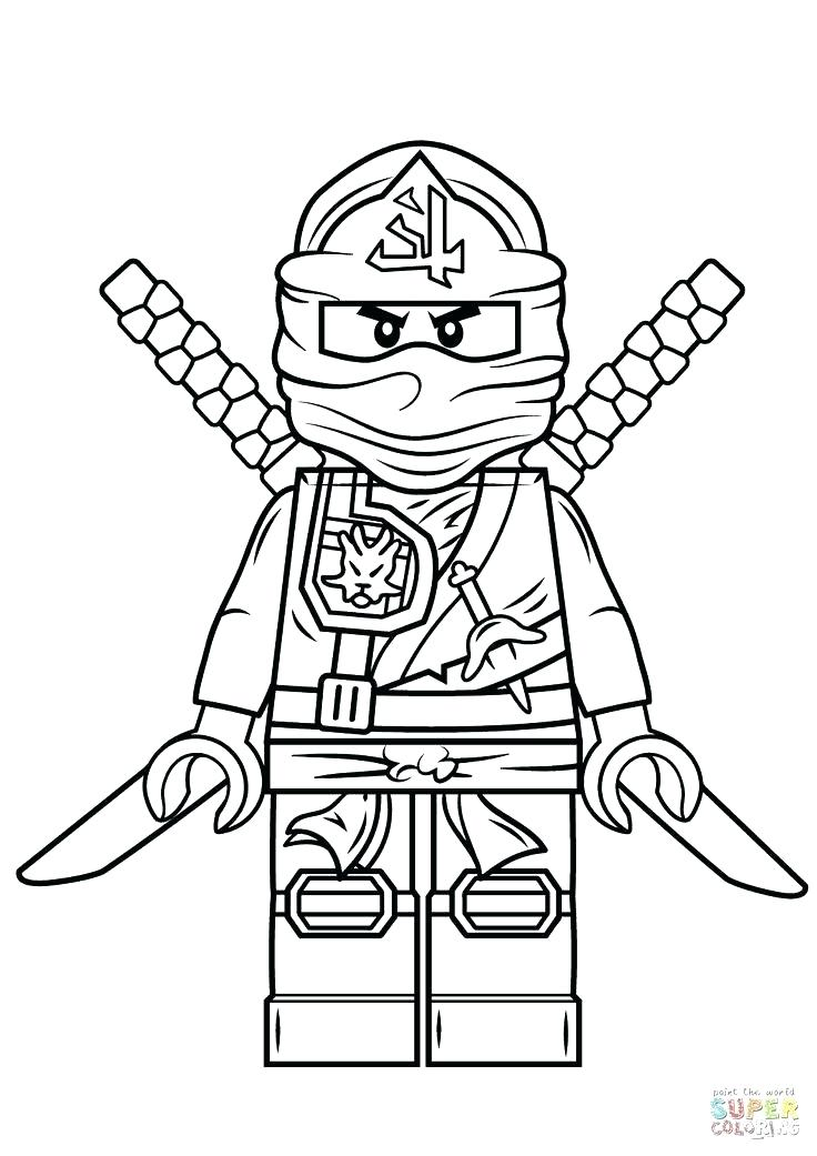 736x1041 Ninja Coloring Pages