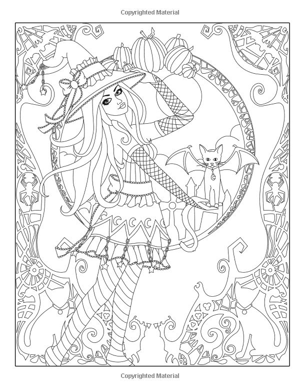 600x776 Best Dark Coloring Images On Coloring Books