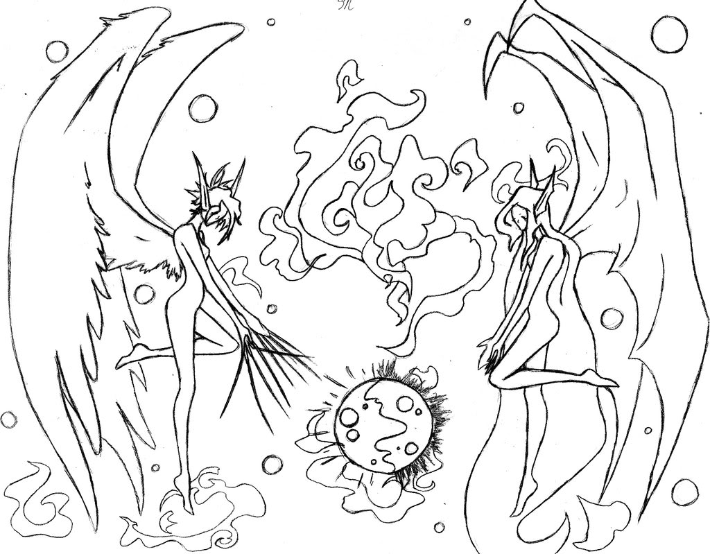 1024x799 Fairy Coloring Pages For Adults Printable Kids Colouring And Angel