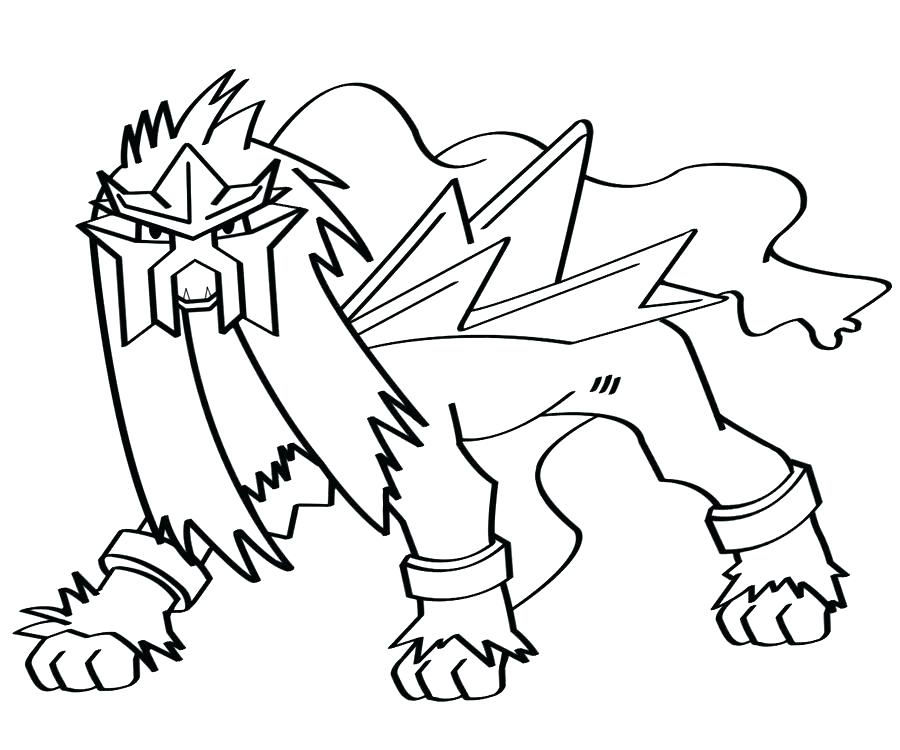 900x750 Pokemon Coloring Pages Entei Coloring Pages Coloring Pages