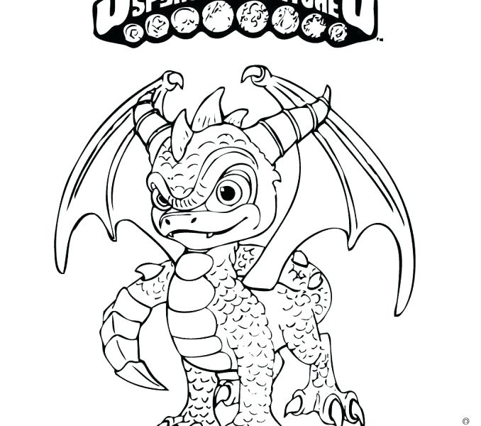 678x600 Skylanders Spyro Coloring Pages Coloring Pages Coloring Pages
