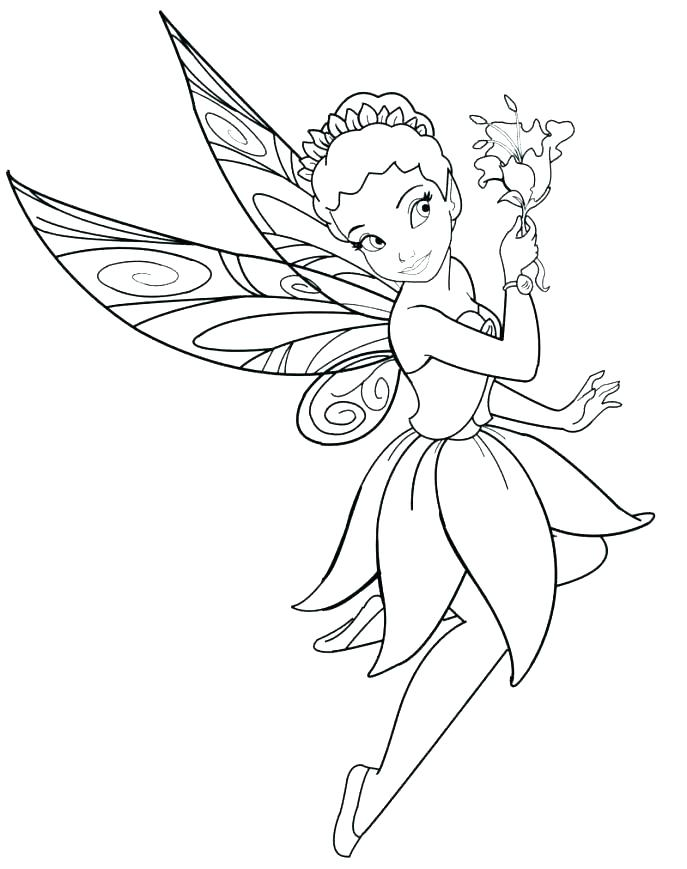 687x869 Free Fairy Coloring Pages Fairy Coloring Picture Coloring Pages
