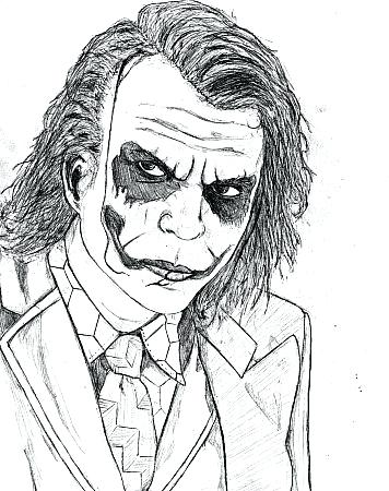356x450 Joker Coloring Pages Batman And Joker Coloring Pages Dark Knight