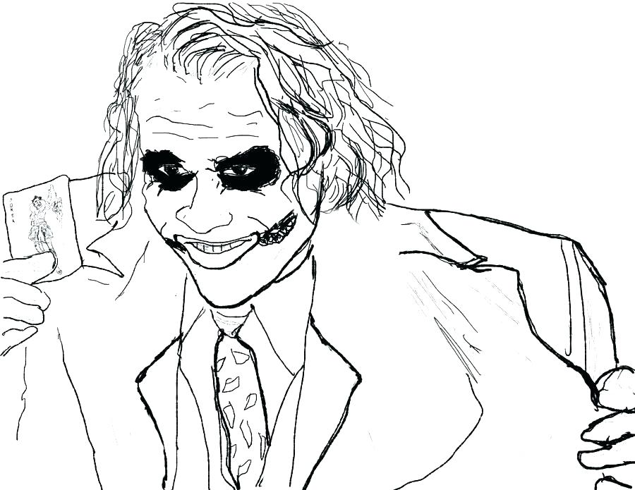 900x695 Joker Coloring Pages Joker Catch