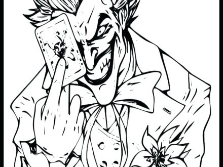 440x330 Joker Coloring Pages Joker Coloring Pages Coloring Home Cute Joker