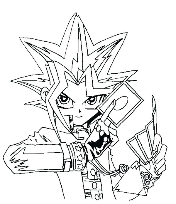 600x695 Yugioh Coloring Pages Coloring Page Coloring Pages Coloring Oh