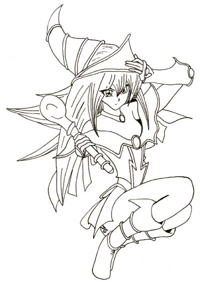 400x565 Dark Magician Girl
