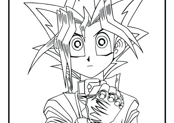 601x425 Yugioh Coloring Pages X Yugioh Dark Magician Girl Coloring Page