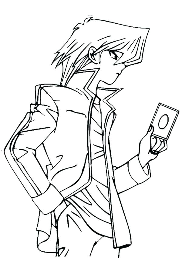 600x849 Yugioh Dark Magician Coloring Pages Great Coloring Pages Print