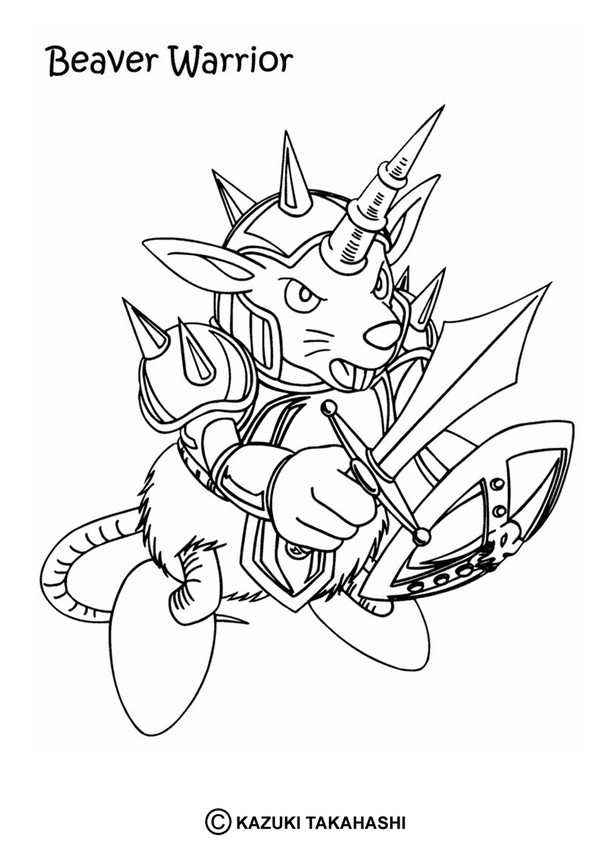 601x850 Dark Magician Coloring Pages