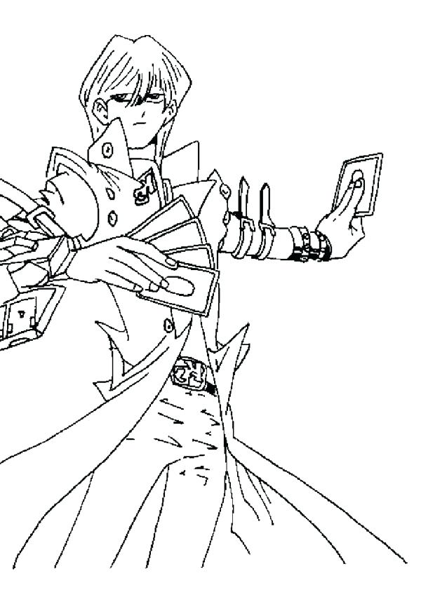 600x844 Powerful Card In Oh Coloring Page Free Coloring Yugioh Dark