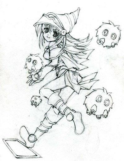 400x518 Dark Magician Girl + Kuribohs