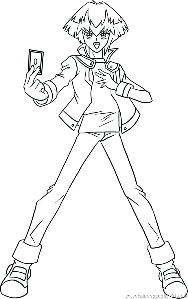 650x1031 Yugioh Coloring Pages Coloring Pages Packed With Coloring Pages