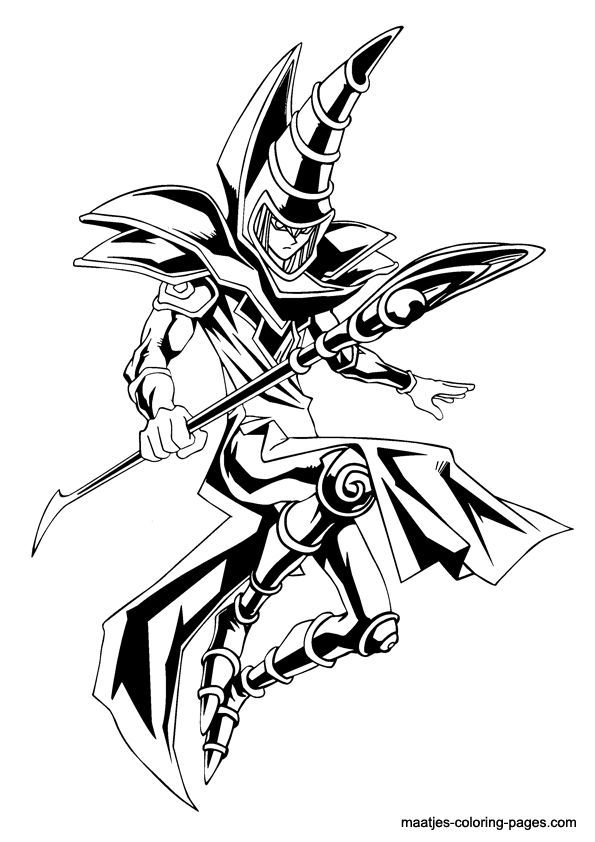 595x842 Dark Magician Tattoo