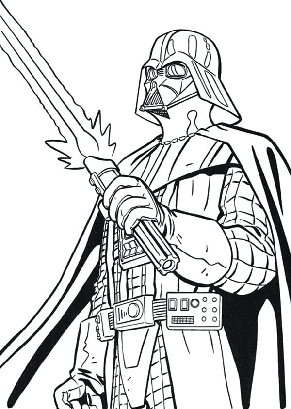600x844 Darth Maul Coloring Pages