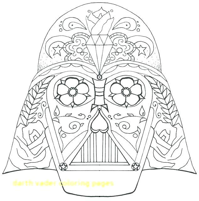 634x640 Darth Vader Coloring Pages Coloring Pages Large Size Of Coloring