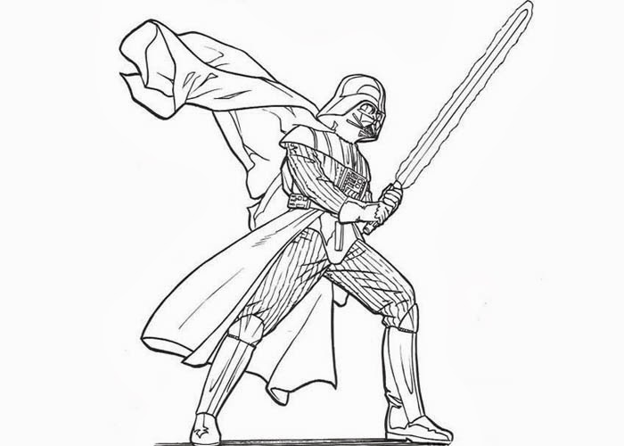 700x500 Star Wars Darth Vader Coloring Pages Free Coloring Pages