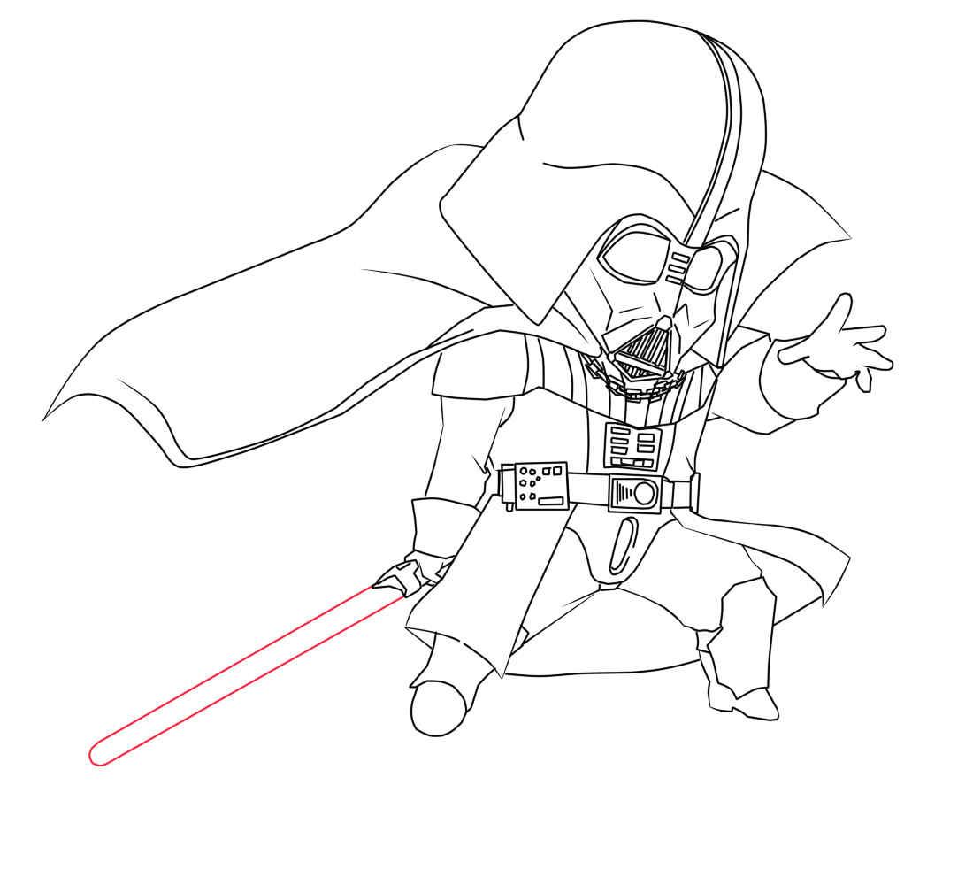 1100x1000 Unique Darth Vader Coloring Page Lego Star War